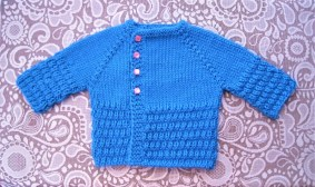 Gift to you sweater (0-3 mos)